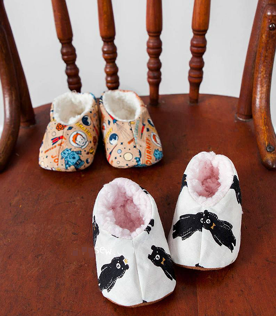 Abella Baby Slippers Pattern