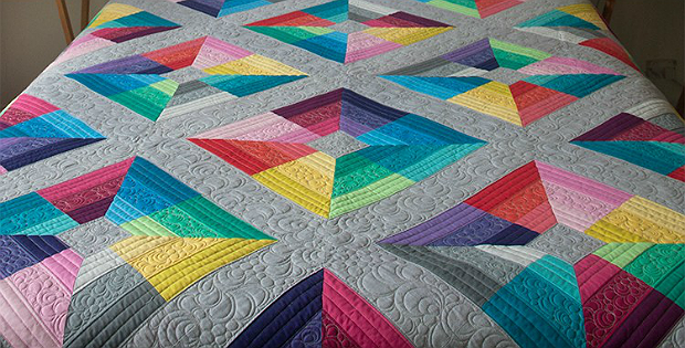 Kite Flight Quilt Pattern