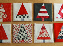 Christmas Tree Coasters Pattern