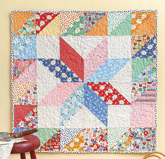 Eight-Point Star Wallhanging Pattern