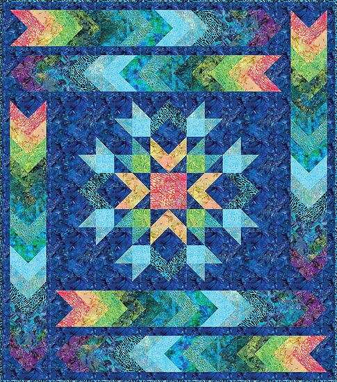 Ocean Tides Quilt Pattern