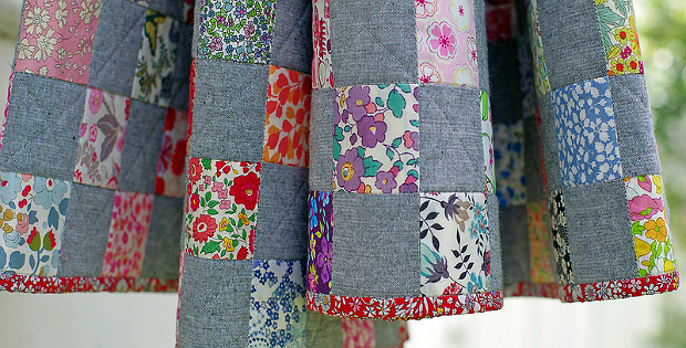 Chambray Checkerboard Quilt Tutorial