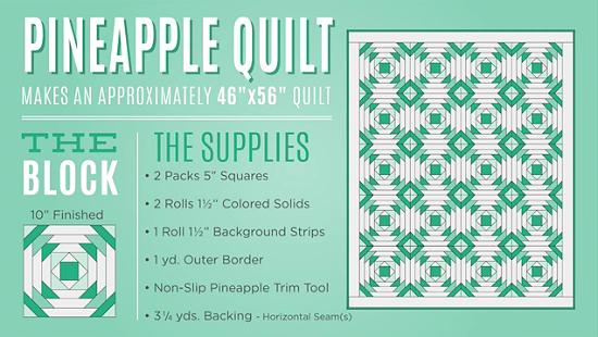 Pineapple Quilt Block Tutorial