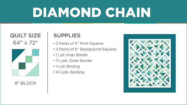 Diamond Chain Quilt Tutorial