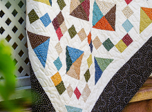 Diamond Chain Quilt Tutorial