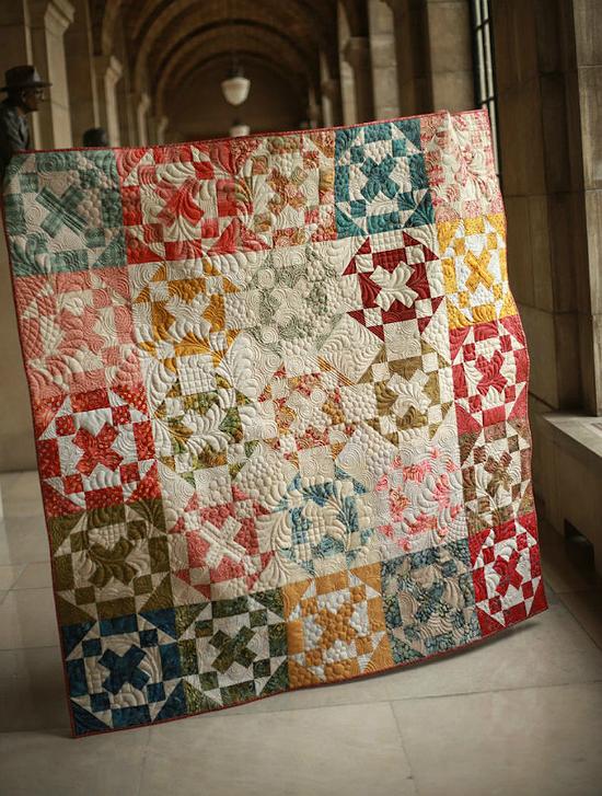 Huddle Quilt Pattern