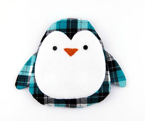 Penguin Hand Warmer Pattern