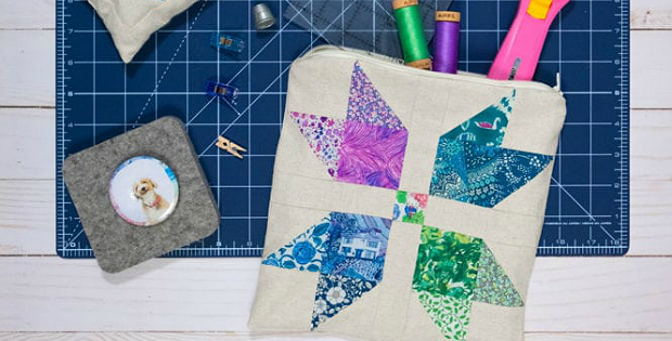 Sewing Machine Accessory Pouch Tutorial