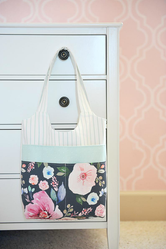 Three Pocket Tote Pattern