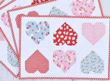 Sweetheart Valentine Placemats
