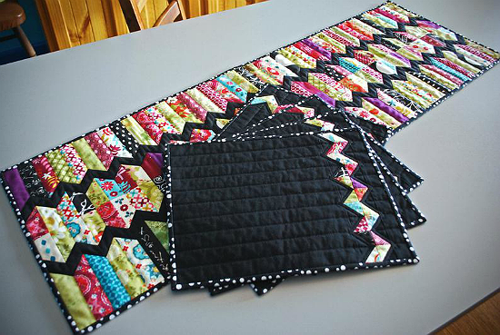 ZigZag Run Table Runner Pattern