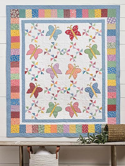 Butterfly Garden Quilt Pattern