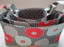 3 Storage Baskets Pattern