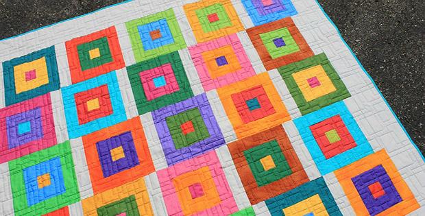 Block Hop Quilt Pattern