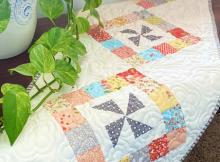 Cartwheels Table Runner Pattern