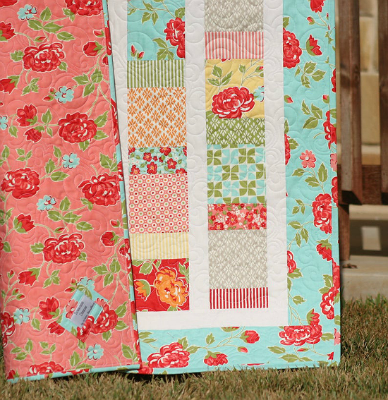 Charmingly Sashed Quilt Pattern
