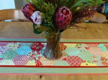 Half Hexie Table Runner Pattern