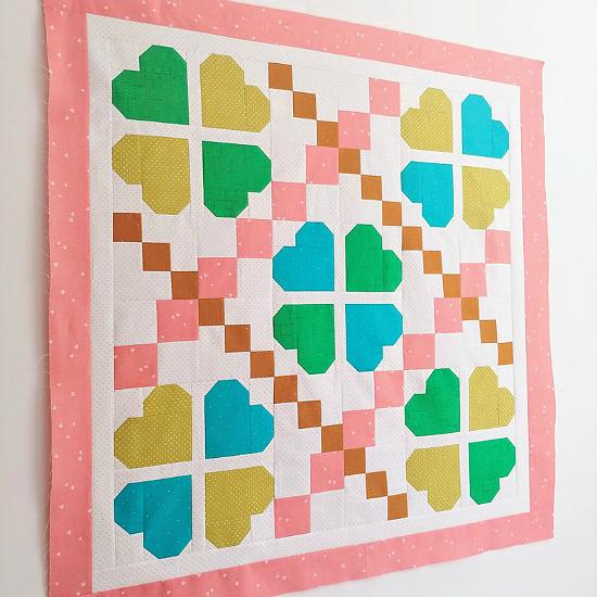 Lucky Clover Quilt Pattern