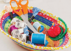 Scrappy Quilter's Bowl Pattern