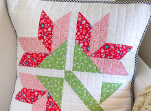 Sweet Lily Cushion Pattern