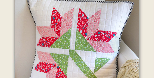 Sweet Lily Cushion Pattern