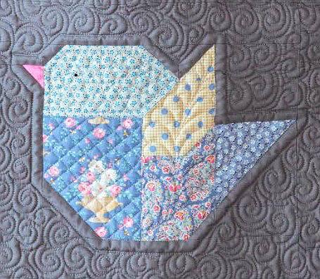 Tilda Mix and Match Bird Block Pattern