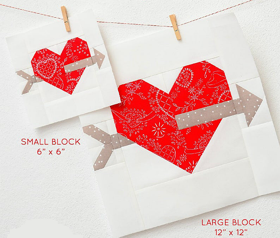 True Love Quilt Block Pattern