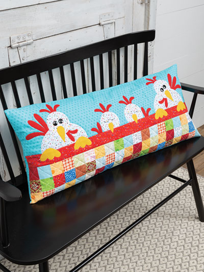 Charming Chicks Pillow Pattern