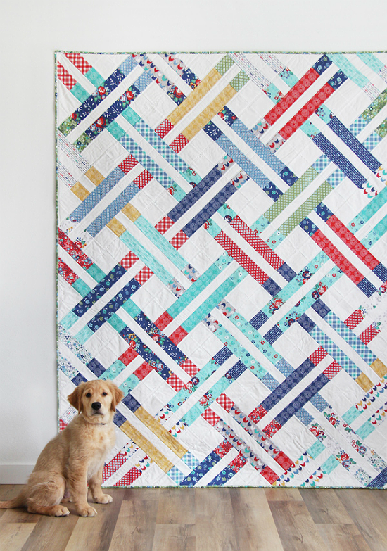 Jelly Weave Quilt Pattern