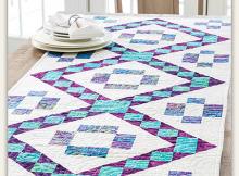 Batik Jewels Table Runner Pattern