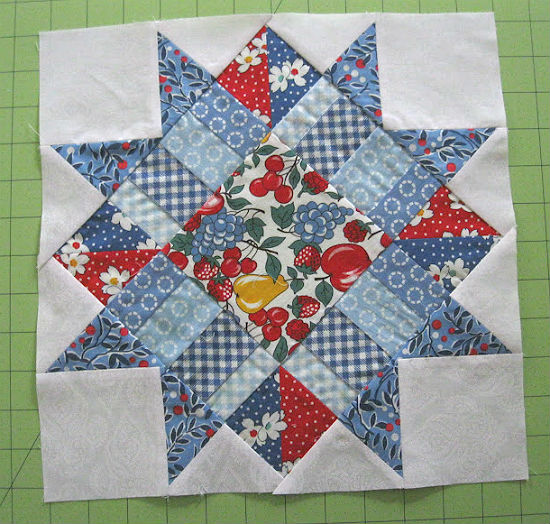 Boston Star Quilt Block