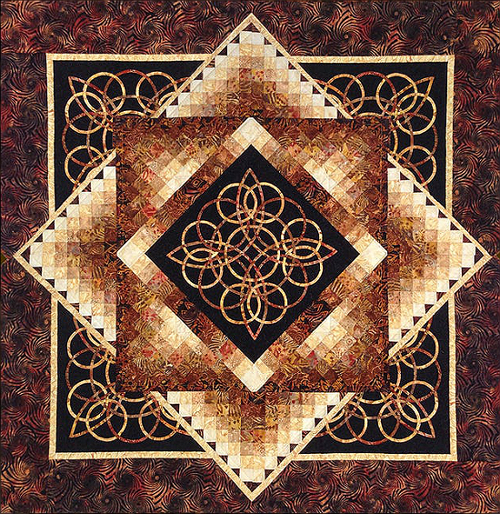 Celtic Radiance Quilt Pattern