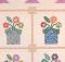 Flowerpots Mini Quilt Pattern