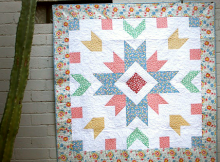 Garden Star One Quilt Pattern