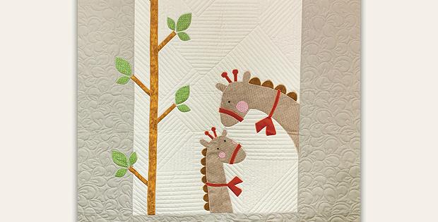 Gigi Giraffe Baby Quilt Pattern