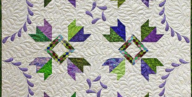 Jacaranda Quilt Pattern