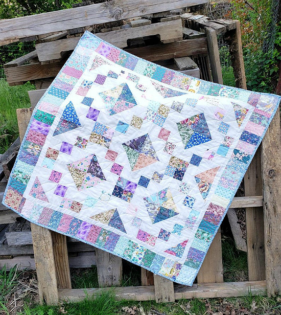 Jacob's Ladder Baby Quilt Pattern
