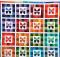 Rainbow Butterflies Quilt Pattern