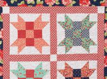 Rose Twirl Quilt Pattern