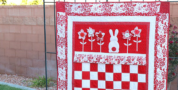 Ruby Rabbit's Garden Quilt Pattern