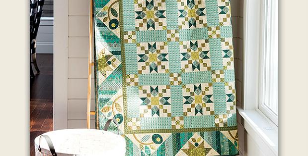 Star Chain Quilt Pattern