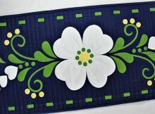 Spring Fling Table Runner Pattern