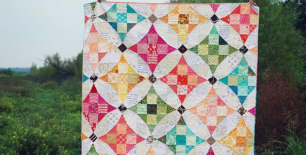 Terrazzo Quilt Pattern