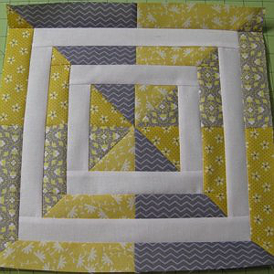 Swirl Away Block Pattern