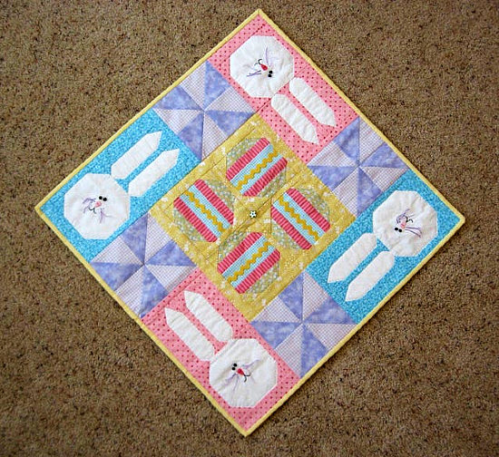 Easter Table Top Quilt Pattern