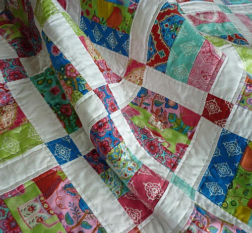 Easy Jelly Roll Quilt Pattern