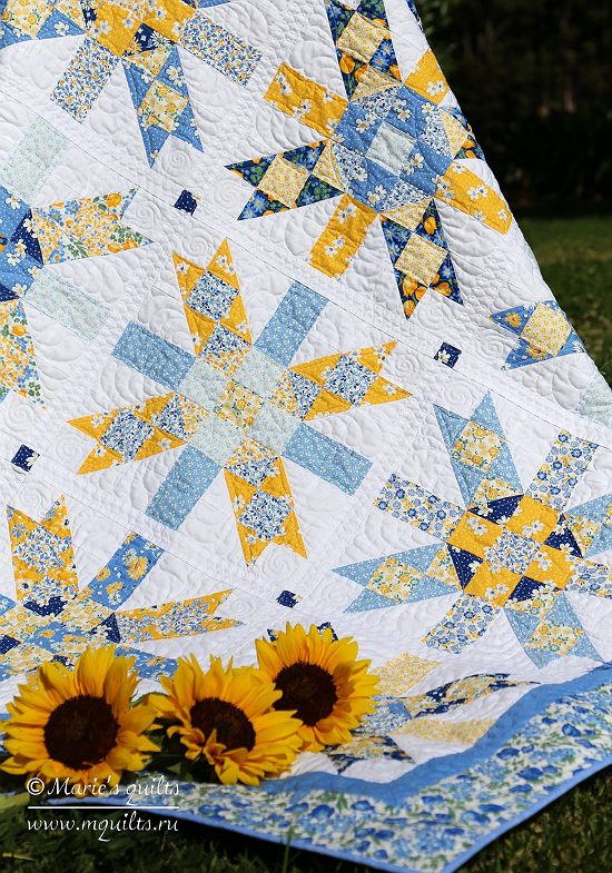 First Flowers Quilt Pattern
