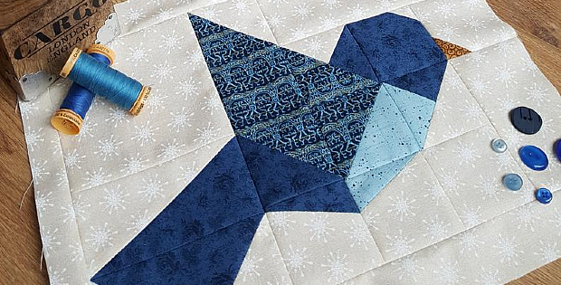Bird Quilt Block Pattern