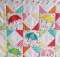 Springtime Showers Mini Quilt Pattern