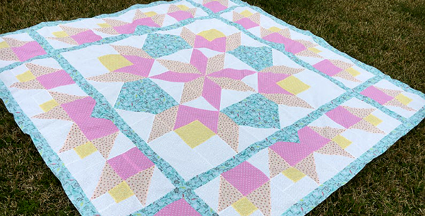 Tulip Rose of Sharon Quilt Pattern